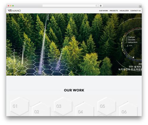 DFD Native best WordPress theme - vrmano.com