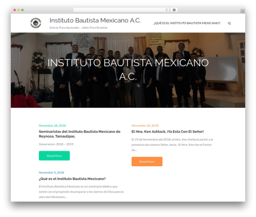 Pet Business business WordPress theme - institutobautistamexicano.com