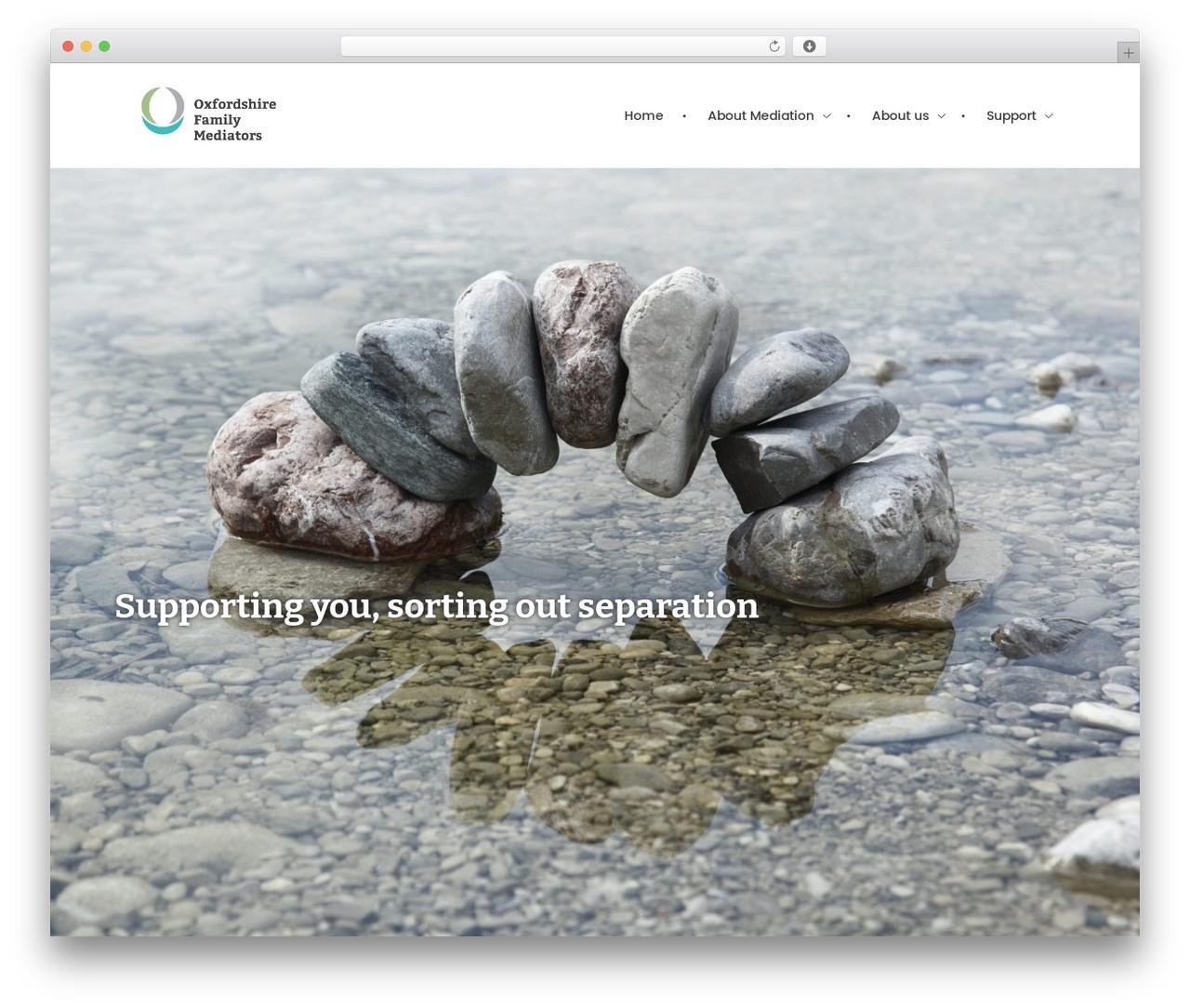 Template WordPress Phlox - ofm.org.uk