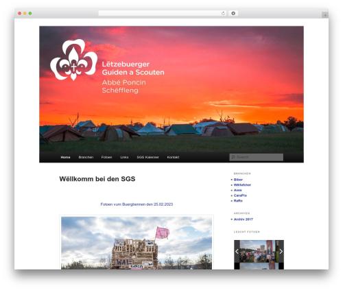 Twenty Eleven WordPress free download - sgs.lu