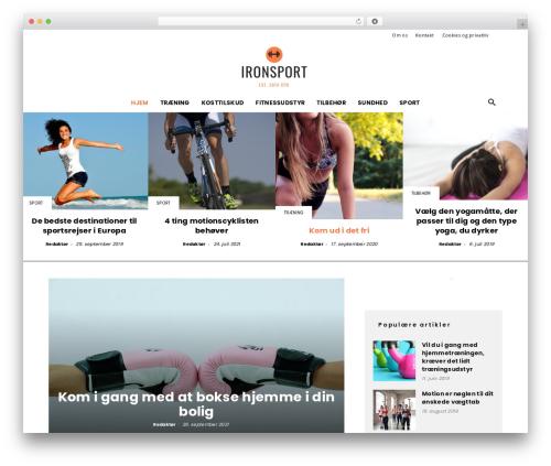 WordPress theme Newspaper - ironsport.dk