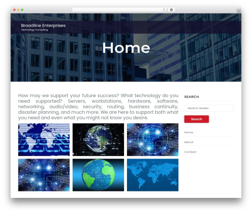 Awesome Business WordPress template for business - broadlinellc.com