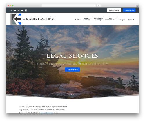 Divi company WordPress theme - kanialawfirm.com