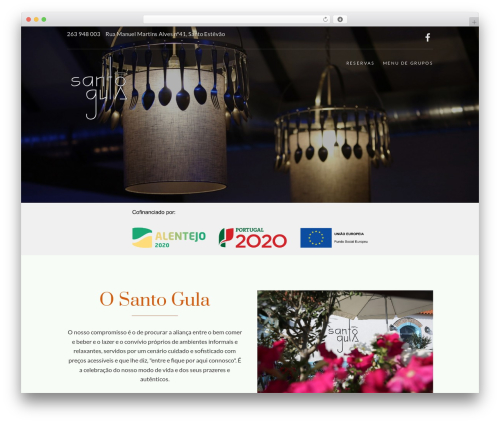 Food Express WordPress template free download - santogula.com