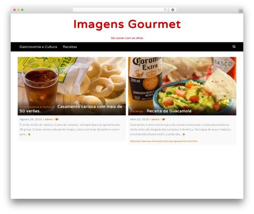 Latest free WordPress theme - imagensgourmet.com