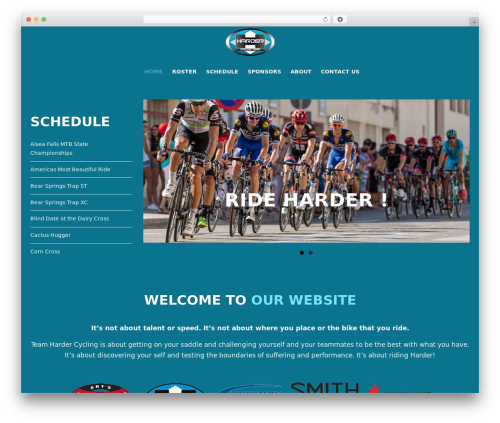 Whitelabel top WordPress theme - hardercycling.com