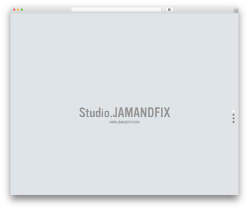 BLANK Theme wallpapers WordPress theme - jamandfix.com