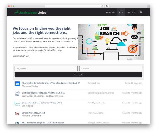 GeneratePress template WordPress free - jackalopejobs.com