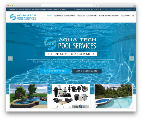 SwimmingPool WP template - atpoolservices.com