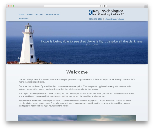 WordPress theme Playful - kaypsych.com