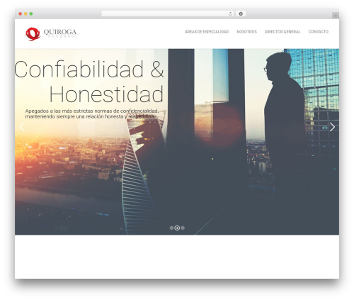Kora WP theme WordPress - quirogaabogados.com