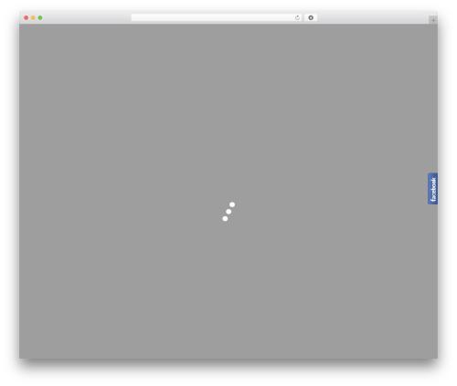 Minim WordPress theme - cyberetyka.pl
