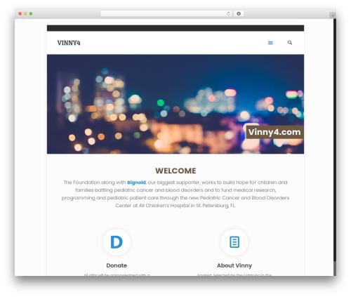 Betheme WordPress template - vinny4.com