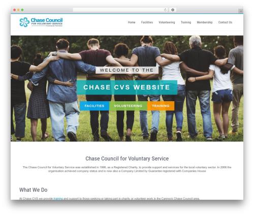 Businessweb Plus company WordPress theme - chase-cvs.org.uk
