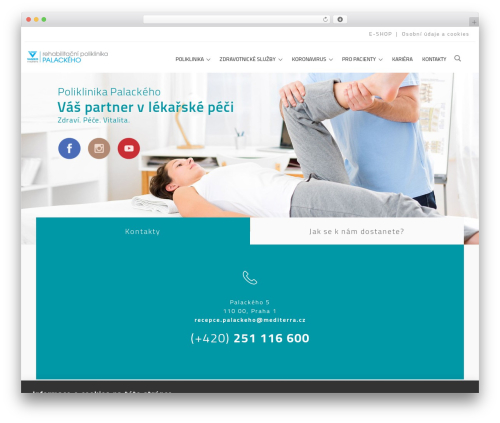 MedCare WordPress template for business by detheme - page 2