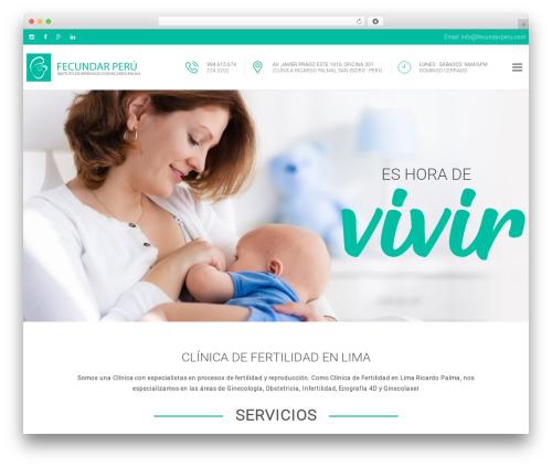 proway top WordPress theme - fecundarperu.com