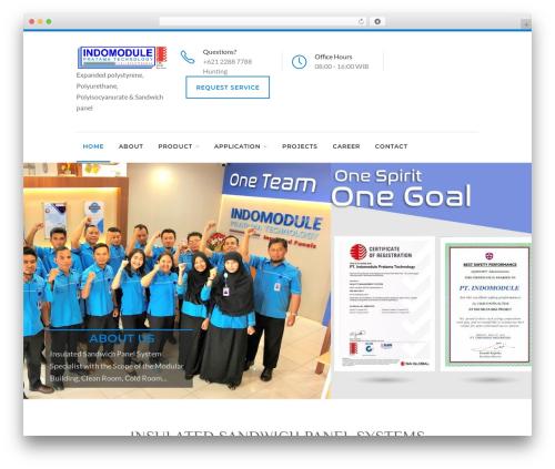 Reneva WordPress website template - indomodule-pratama.com
