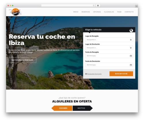 RentIt best WordPress theme - rentacaribizalowcost.com