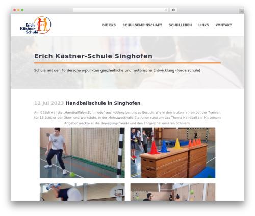Theme WordPress Bridge - eks-singhofen.de