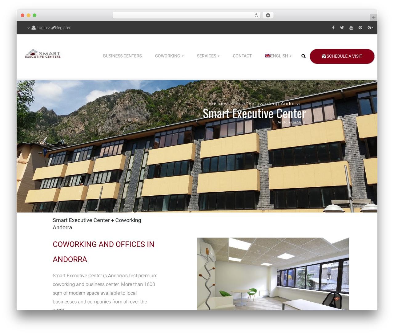 WordPress theme opalhomes - executiveandorra.com