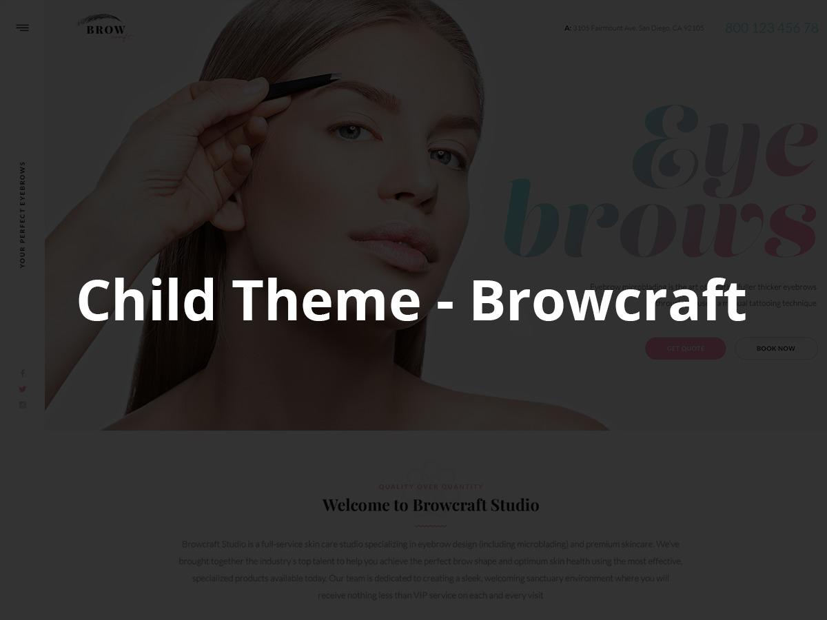 Browcraft - Child theme WordPress