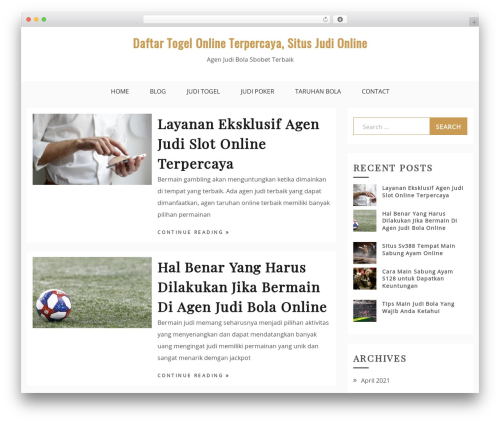 Drift Blog theme WordPress - radioipojucanafm.com