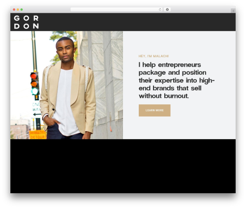 Movedo company WordPress theme - gordonmediaco.com
