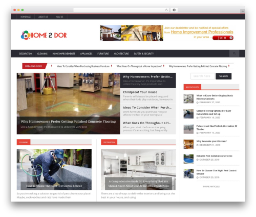 Novomag Premium Theme [Shared By themes24x7.com] best WordPress theme - home2dor.com