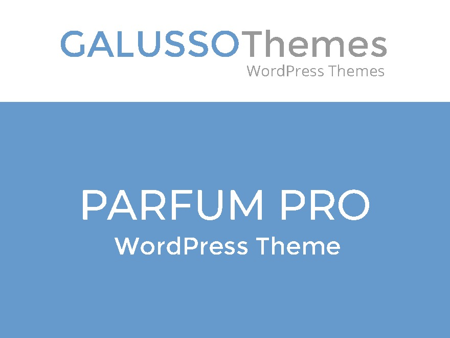 Parfum Pro WordPress ecommerce theme