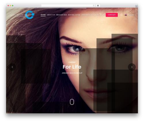 Salient WordPress template - aestheticturkey.com