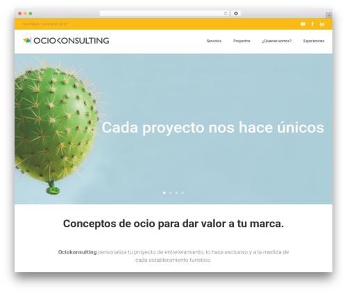 Template WordPress Avada - ociokonsulting.com