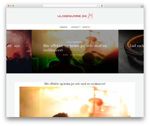 WordPress website template kheera - uligenumre.dk