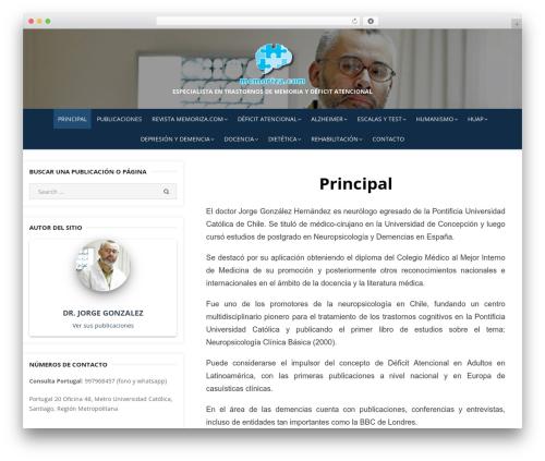 WP theme Miteri - memoriza.com