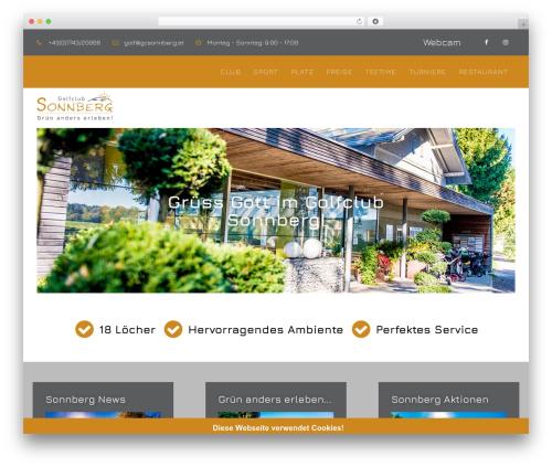 Blank Theme WordPress website template - gcsonnberg.at