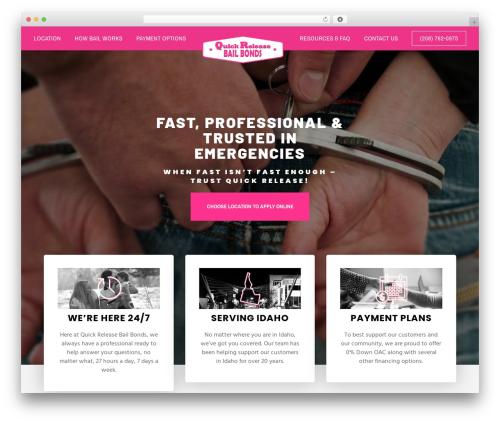 Movedo theme WordPress - quickreleasebailbonds.com