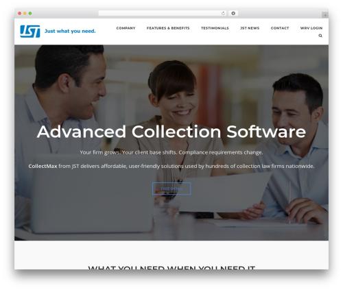 SiteOrigin Corp free website theme - collectmax.com
