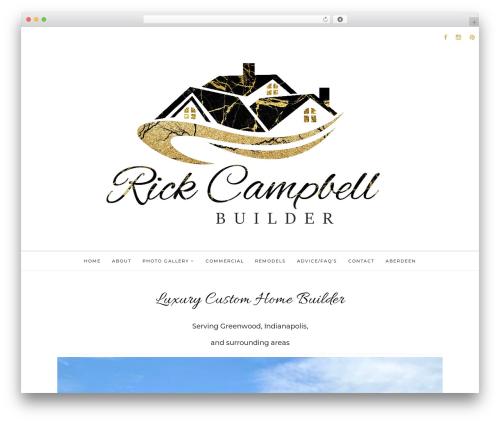 WordPress template The Tea Cup - rickcampbellbuilder.com