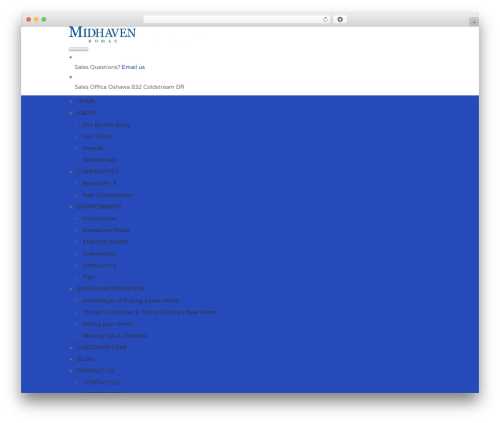Best WordPress theme Findeo - midhavenhomes.com
