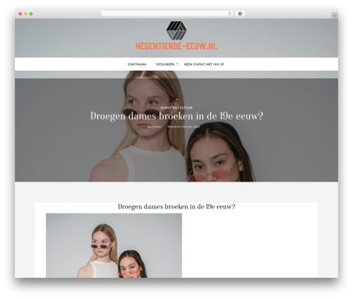 kheera WordPress page template - negentiende-eeuw.nl