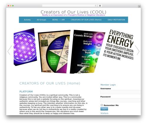 WP template ZenWater - creatorsofourlives.com