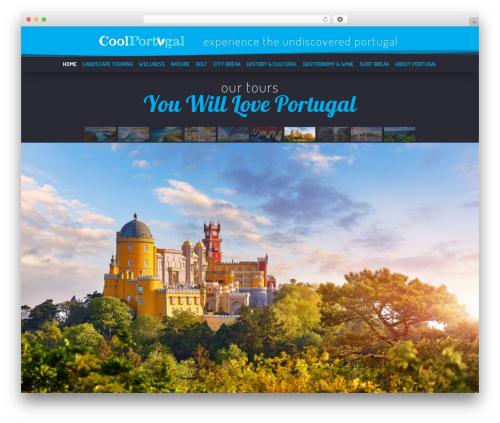 GeneratePress best free WordPress theme - coolportugal.com