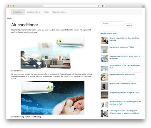 Theme WordPress LineDay - udowload.com
