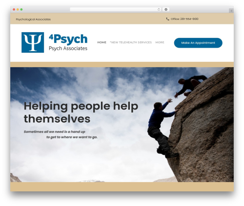 WordPress theme counselor - 4psych.com