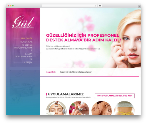 WordPress theme BeautySpot - gulestetisyenlikkursu.com