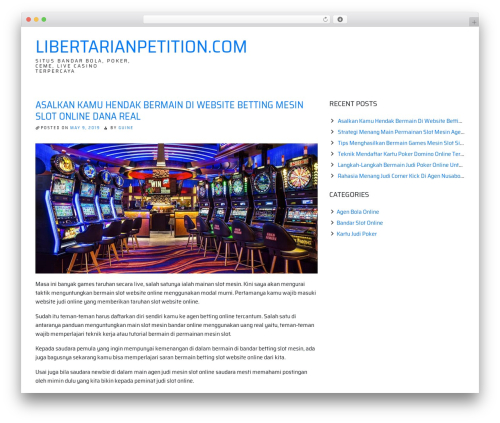 WP template ioBoot - libertarianpetition.com