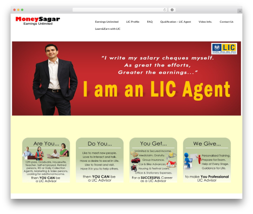 child-virtue WordPress theme - moneysagar.com