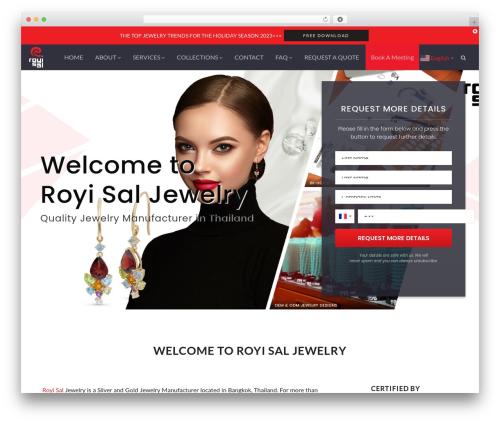 Theme WordPress Genesis - royisal.com