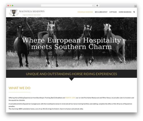 HorseClub WordPress theme - magnoliashadows.com