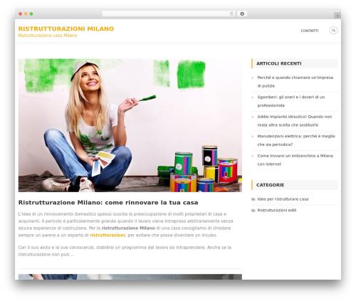 Architect Lite template WordPress - ristrutturazionimilano.net