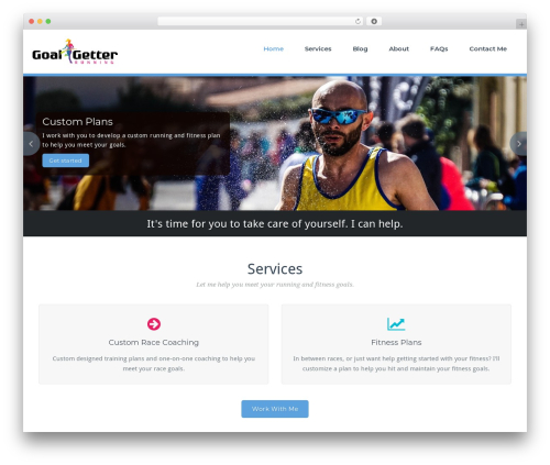 BusiProf Pro WordPress theme - beagoalgetter.net